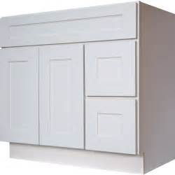 36 inch bathroom vanity single sink cabinet in shaker