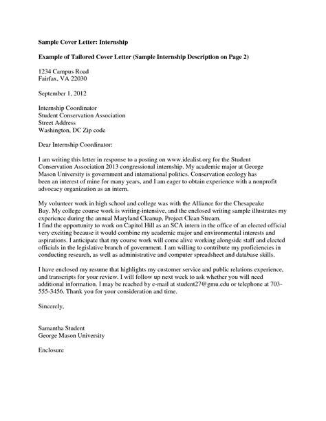 cover letter template university cover letter