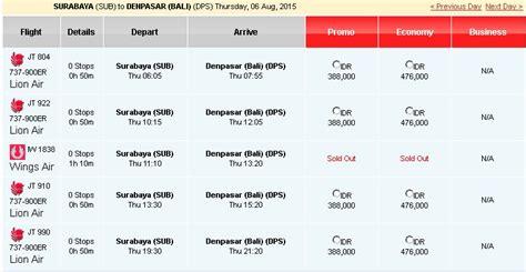Tiket Pesawat Air Asia Promo Pp Kl Osaka Free Bagasi tiket pesawat surabaya bali air katalog harga promosi