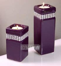 Set Of 2 Purple Plum Teardrop Mosaic Tealight 1000 Images About Candle Holders On Purple Candle Holders Purple Glass And Votive