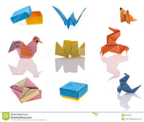 Tiny Origami - tiny origami royalty free stock photography