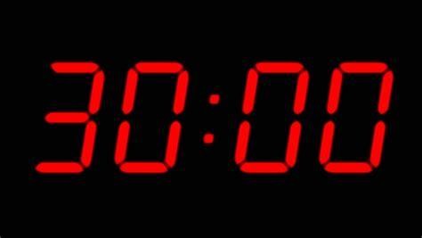 countdown clock countdown timer stock footage