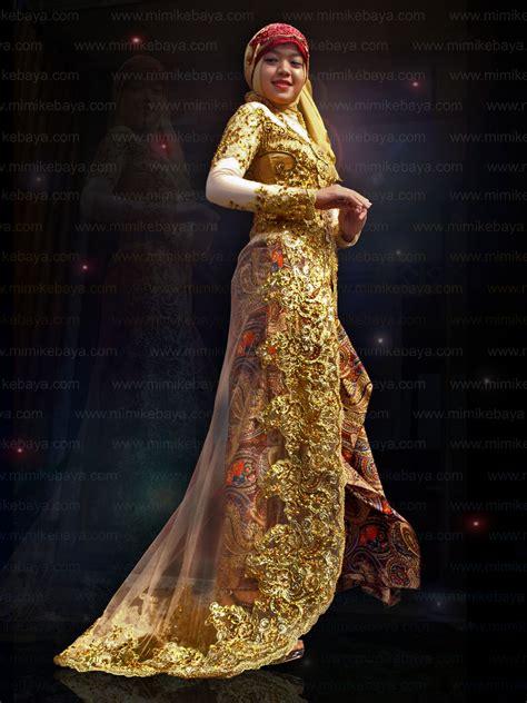 Kebaya Atasan Soimah Gold Emas Gallery Kebaya Mimi Kebaya