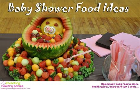 Ideas Baby Shower Food by 50 Baby Shower Food Ideas That Will Your Mind