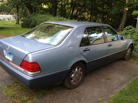 how cars engines work 1993 mercedes benz 400sel lane departure warning find used mercedes benz 400 sel 1993 in stamford connecticut united states for us 770 00