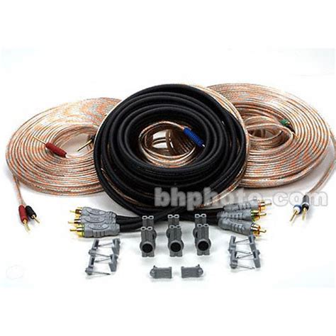 monster cable home theater speaker kit  bh photo video