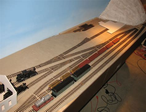 How To Set Up A Reloading Bench by Make Your Own Model Train Layout Operation18 Truckers