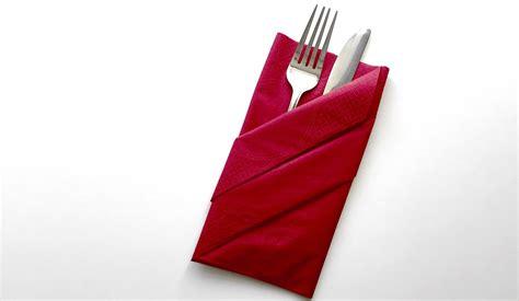 servietten falten tasche servietten falten bestecktasche how to