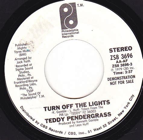 teddy pendergrass turn the lights teddy pendergrass turn the lights vinyl at discogs