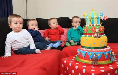 Bedroom Arrangement Ideas bursting with joy mother celebrates quads first birthday