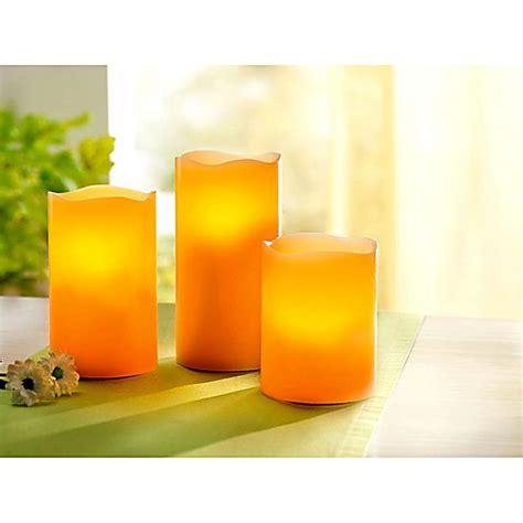 Kerzen Bestellen by Led Kerzen Farbenfroh 3er Set Jetzt Bei Weltbild De Bestellen