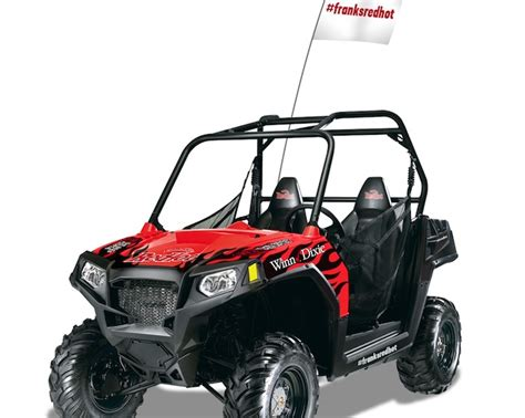 Franks Red Hot Sweepstakes - orlando resident wins custom atv in winn dixie frank s redhot sweepstakes