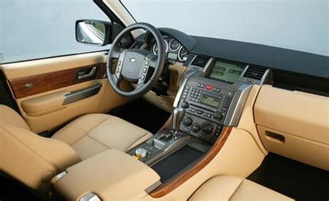 land rover 2007 interior car and driver