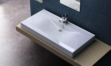 ausgefallene waschbecken design keramik waschschale einbau waschbecken waschtisch