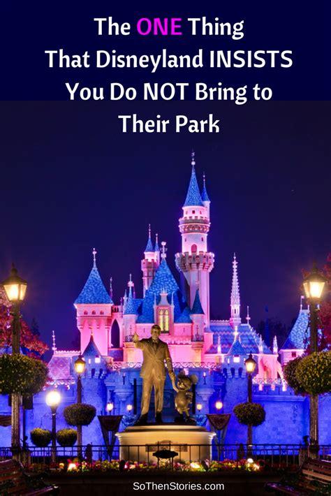 disneyland insists    bring   park   stories