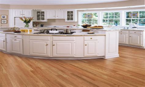 red kitchens with oak cabinets hardwood floor in kitchen red kitchens with oak floors