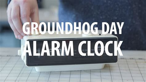 groundhog day clock make a groundhog day alarm clock 171 adafruit industries