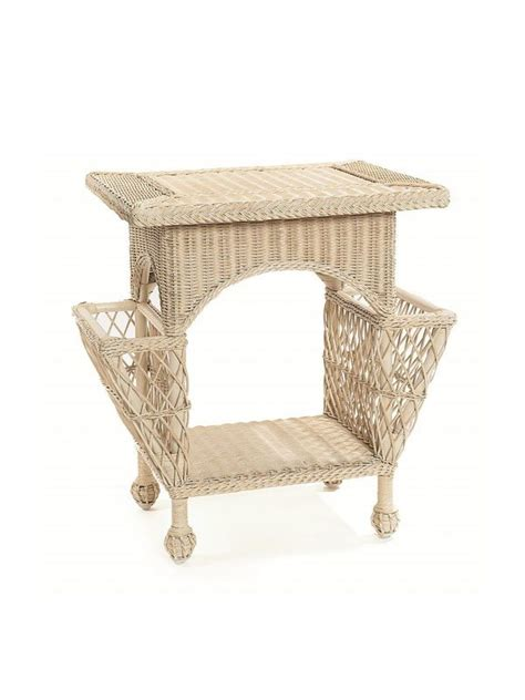 cottage style magazine table cottage wicker magazine table cottage home 174
