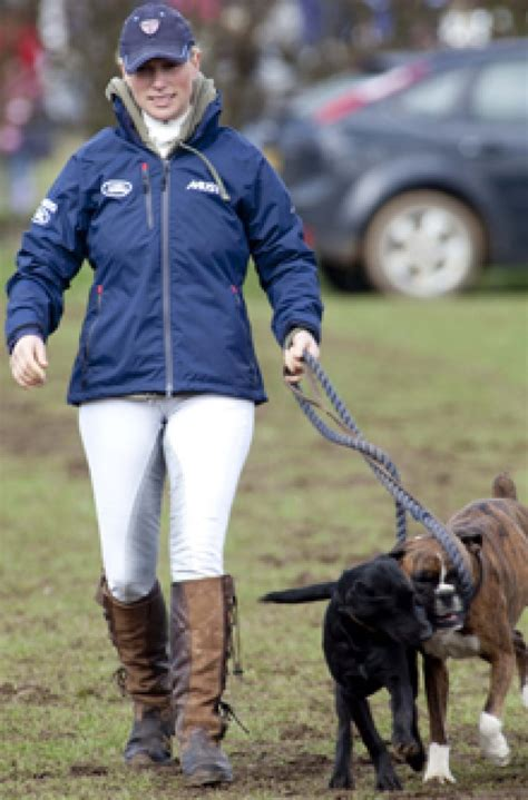 uk celebrities and their dogs celebs and their dogs zara phillips goodtoknow