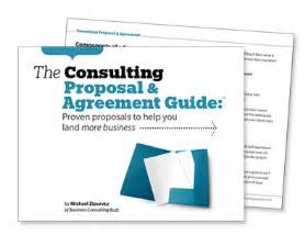consulting proposal amp consulting agreement templates