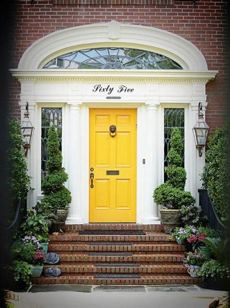 superb paint for exterior door 6 yellow front door colors on houses newsonair org