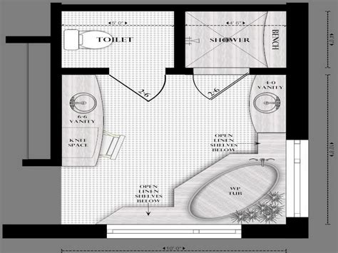 master bathroom layouts  placement ideas master