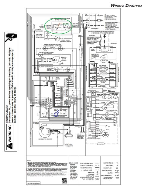 goodman furnace wiring diagram for gas units wiring