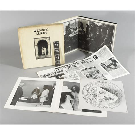 Wedding Album Lennon Vinyl by Lennon And Yoko Ono The Wedding Album 1969