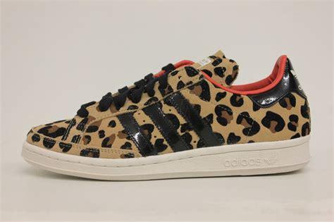 adidas national tennis og cheetah print black white