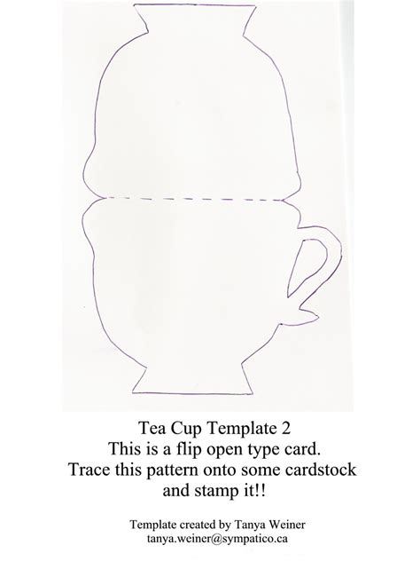image gallery teacup template
