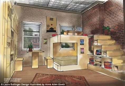 small apartment design ideas the rental girl blog the girls apartment floor plans revealed by hbo set designer