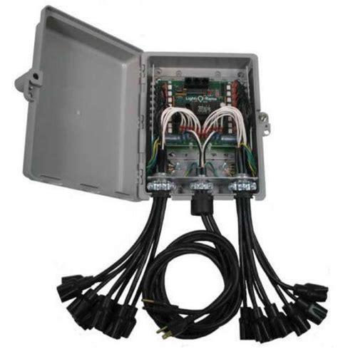 3 channel christmas light controller light o rama ebay