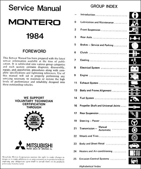 how to download repair manuals 1984 mitsubishi space electronic valve timing 1984 mitsubishi montero repair shop manual original