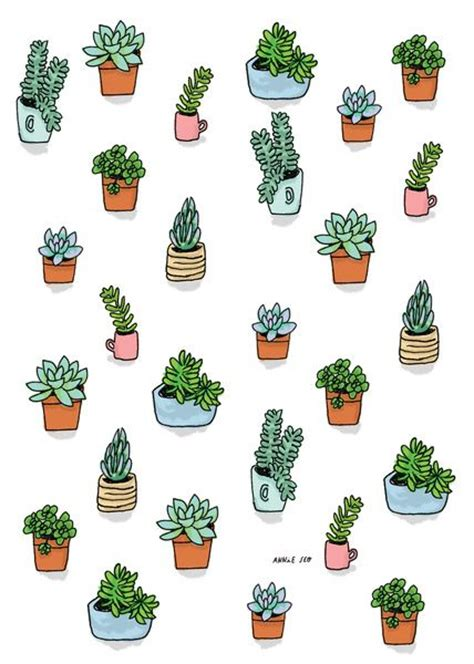 googlecom list of free catalogues regarding art and paintings for home succulent illustration search potted plant beautiful follow me and cactus