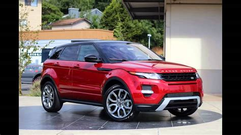red range rover 2016 range rover evoque firenze red youtube