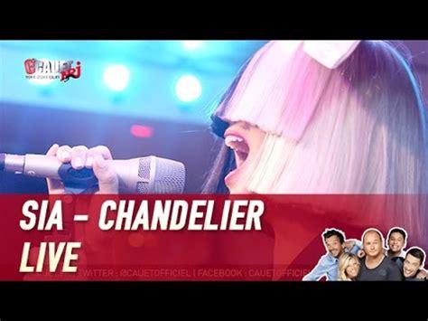 Sia Chandelier Live Sia Chandelier Live C Cauet Sur Nrj And
