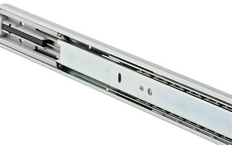 glissiere telescopique de tiroirs a fermeture amortie 3832ec