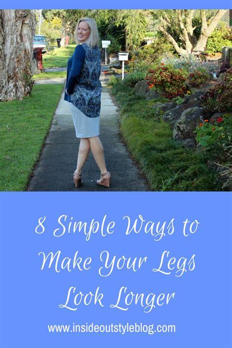 8 Ways To Customise Your Clothes by 8 Simple Ways To Make Your Legs Look Longer Inside Out Style