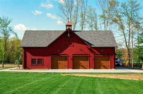 barn garage 38 x 56 hybrid post beam 2 story carriage barn garage