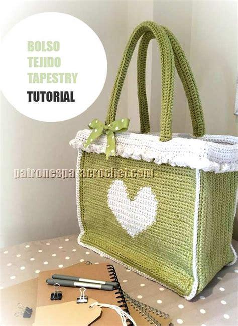 tutorial rajutan gratis maravilloso bolso crochet para compras tutorial paso a