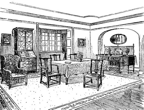 Dining Room Table Clipart Black And White Byron Dining Room Clipart Etc