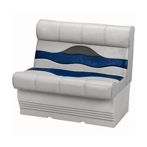 wise premium pontoon boat seats wise marine wd983 840 gray blue 27 inch premium pontoon