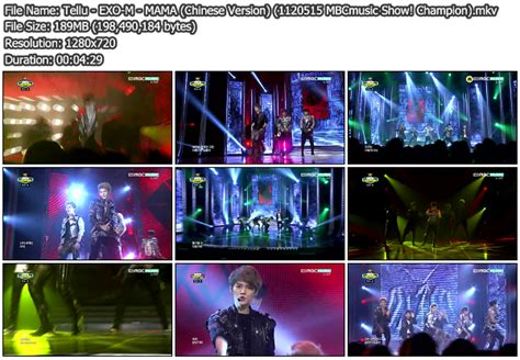 download mp3 exo mama chinese version download perf exo m mama chinese version mbcmusic