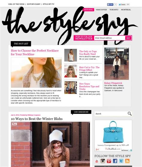 magazine layout site 25 outstanding magazine style website designs