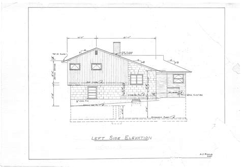 side split house plans side split level house plans