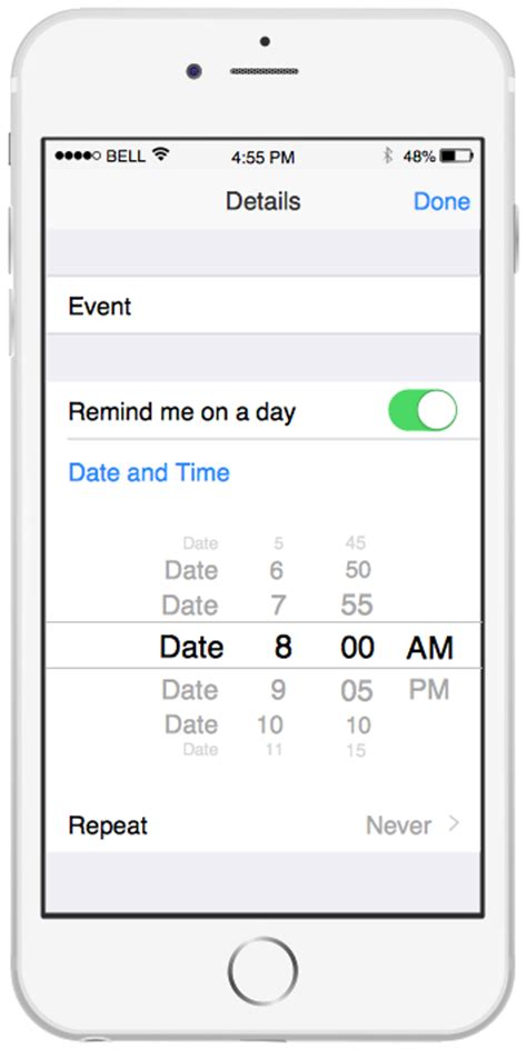 interface template iphone user interface solution conceptdraw