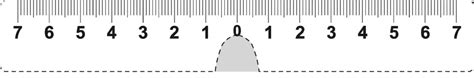 printable pupillary distance ruler printable ruler actual size in 12 6 inch cm mm