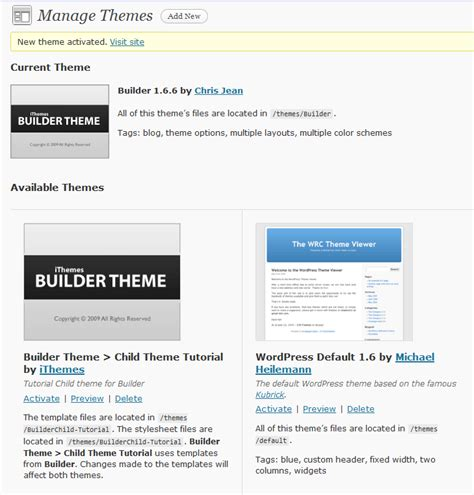 builder child themes ithemes and child themes a quick tutorial 1