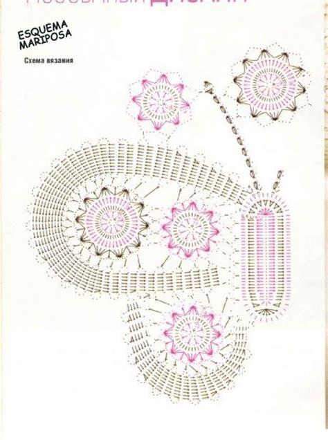 esquema de mariposas para polera crochet patrones de mariposas en crochet car interior design