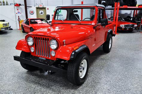 amc jeep scrambler amc 1985 jeep cj 8 scrambler restored museum quality like